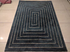 India Hand Tufted 140x200 4.6x6.6 Modern Wool Soft Thick Carpet Area Rug Teppich