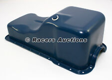 Small Block Ford Oil Pan Front Sump Blue Stock Capacity 289 302 5.0 SBF Windsor