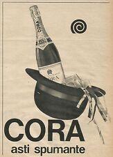 W8484 CORA Asti Spumante - Pubblicità 1963 - Advertising