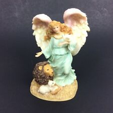 Seraphim Classics Serena Angel of Peace Retired Figurine Lion Bird Roman Inc