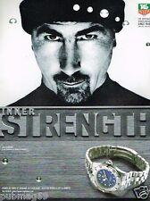 Publicité advertising 1998 La Montre Tag Heuer serie 2000  avec Luc Alphand
