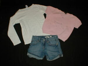 The Children's PLACE Sweater, OLD NAVY SHORTS, GYMBOREE Top Mixed LOT 6/8