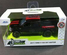 Jada Toys Just Trucks 2011 Ford F-150 Svt Raptor 1:32 Diecast Black