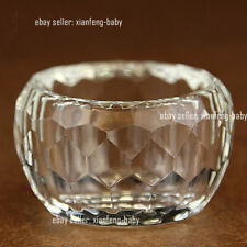 Tibet Buddhist Mikky Offering Water Bowl Divine Focus Ritual Vessel Glass