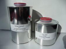 4,5 Litros Set UHS Brillante barniz claro + ENDURECEDOR Profi Set pintura basis