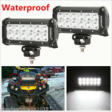 "2 Pcs 9-32V 6500K 7"" LED CREE Car SUV 4X4 Working Lights Flood Lamps Waterproof"