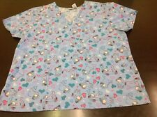 Disney Eeyore Scrub top size 1X  16/18