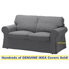 Ikea EKTORP Loveseat (2 Seat Sofa) Slipcover Cover NORDVALLA DARK GRAY Sealed!