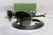 New Oakley Yuvraj Singh Signature Plaintiff Polished Gold/Dark Grey 004057-12