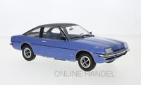 Opel Manta B Berlinetta metallic blau schwarz 1975 1:18 MCG 18107 Manta Manta