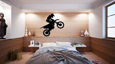 bike Decal Kids Bedroom Decor Boys Wall Art Sticker Vinyl Decals Quotes Transfer