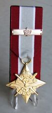 Canadian The General Campaign Star – EXPEDITION + Bar Court Mounted Medal