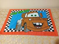 Pillowcase TOWMATER & LIGHTNING MCQUEEN Disney CARS Movie