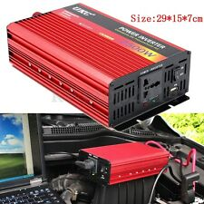 2500W DC 12V to AC 220V Modified Sine Wave Inverter Converter Power Car Charger