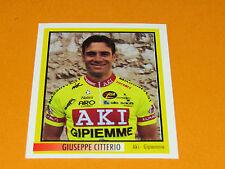 N°9 G. CITTERIO AKI MERLIN GIRO D'ITALIA CICLISMO 1995 CYCLISME PANINI TOUR
