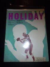 HOLIDAY Magazine October 1968 NFL Pro Football Soho London's Sin Florida