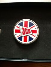 JCB 75 YEAR  BADGE  RUSTON HYMAC TRACTOR EXCAVATOR 3C 3CX LOADALL FASTRAC