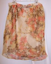Anne Klein Size 12 Floral Skirt New Womens Dress