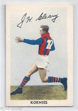 1951 Kornies Footballers In Action (No. 39) J. CLEARY Port Melbourne
