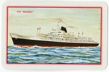 Playing Cards 1 Swap Card Vintage SPANISH LINE Cruise Ship T/N BEGONA Shipping 2