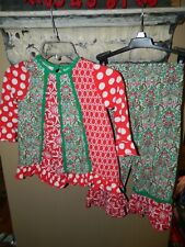 Sage & Lilly Girls 2 pc Christmas Outfit Size 5