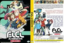 ANIME DVD~ENGLISH DUBBED~FLCL Alternative(1-6End)All region FREE SHIPPING+GIFT