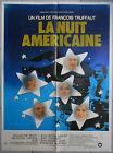 Affiche LA NUIT AMERCAINE Bisset FRANCOIS TRUFFAUT Jean-Pierre Léaud 120x160cm