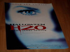 Kinoplakat A1 gerollt:  Halloween H20 JAMIE LEE CURTIS