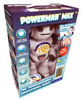 Kids Lexibook Powerman MAX My First Remote Controlled Robot  New 2020