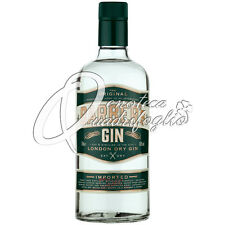BARBER'S GIN THE ORIGINAL LONDON DRY GIN 40% DISTILLED 3 TIMES USE AS AFTERSHAVE