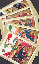 Great Britain GB 1991 Unused Full Set PHQ Stamp Cards No 139 Manuscript Letters