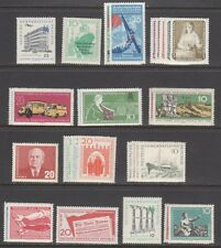 GERMANY,EAST (DDR) STAMPS #373//559—  (13) COMPLETE SETS — 1950s —  UNUSED