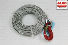 ALKO Seil 12,5m für Seilwinde Bootswinde 901 & 901A, 900kg Winde , Ø7mm