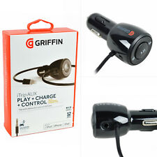NEW Griffin MFi Certified 2.4Amp iPhone/iPod/iPad Lightning USB In-Car Charger
