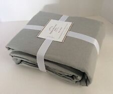 New Pottery Barn Gray Belgian Flax Linen Duvet ~ King/Cal.King ~ New with Tags