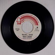 DAVY JONES: Rainy Jane BELL DJ PROMO Monkees Teen Pop 45 NM- WLP