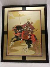 Gary Hostallero Black Horse Shogun Hand-Signed & Numbered COA