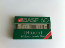 BASF LH-SI 60 super I Audio Cassette Tape NEW 1982 Made in Germany