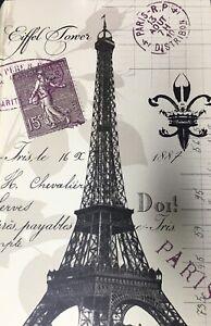 Paris Eiffel Tower beige Decorative Gift Box