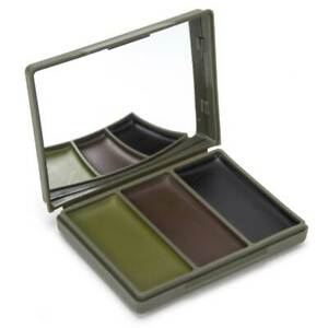 Camtech Cam Cream Army Face Paint Tropical Woodland Military Camouflage Mirror
