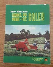 New Holland Model 80 Wire Tie Baler Advertising Brochure