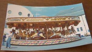 vintage J Crows Galloper photo fairground 1976 WHITLEY BAY