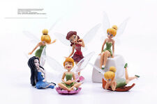 Lot de 6 Fées clochette film d'animation fée tinkerbell