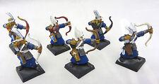 Warhammer High Elves  Warriors Archers army lot metal oop