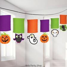 Festa Halloween - 3,7 M Lanterna Di Carta Ghirlanda