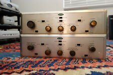 pair Hh Scott 99-D Tube Mono Integrated Amplifiers working