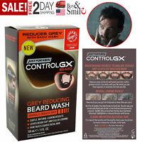 Just For Men Control GX Grey Reducing Beard Shampoo for Mustache & Beard Hair
