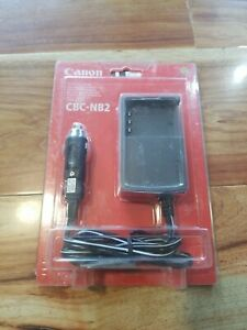 #H) NEW GENUINE CANON CBC-NB2 CAR BATTERY CHARGER FOR NB-2L OR BP-2F12 BATTERIES