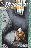 DC COMIC THE UNKNOWN SOLDIER #5 #96917-3 BR1