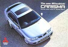Mitsubishi Carisma 4/5-dr 1996-97 Original UK Sales Brochure